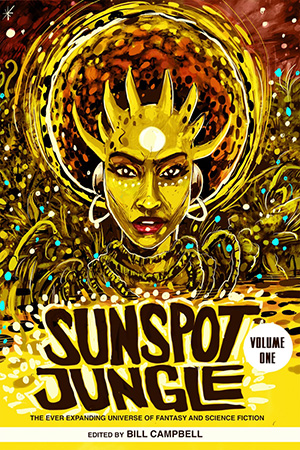 Cover for the Sunspot Jungle anthology.