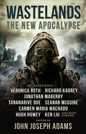 Cover for the Wastelands: The New Apocalypse anthology.